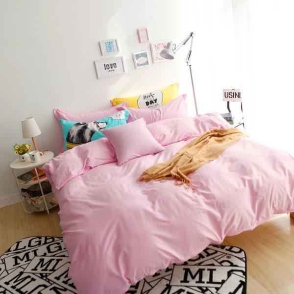 BYF NN FenYu Brief Solid Color Bedding Set 1 600x600 - BYF-NN-FenYu Brief Solid Color Bedding Set