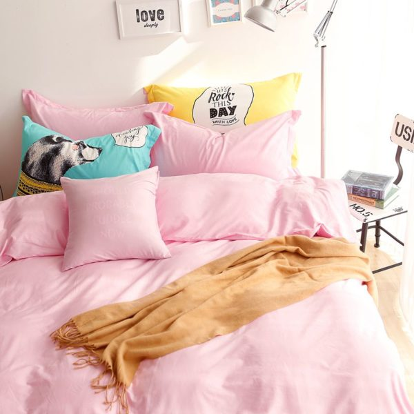 BYF NN FenYu Brief Solid Color Bedding Set 10 600x600 - BYF-NN-FenYu Brief Solid Color Bedding Set