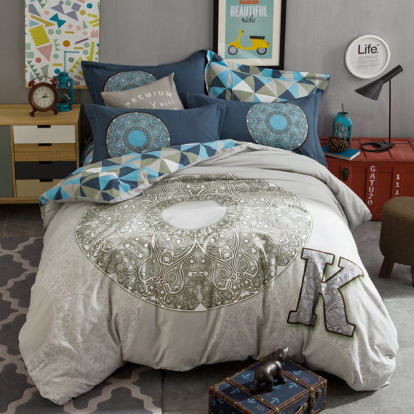 BYF OK 100 Cotton Sanding Fresh Brief Bedding Set 1 600x600 - BYF-OK 100% Cotton Sanding Fresh Brief Bedding Set