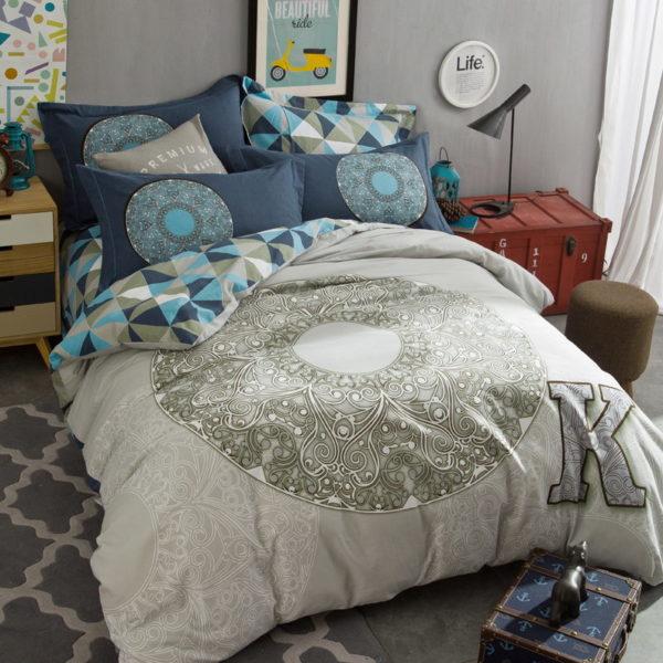BYF OK 100 Cotton Sanding Fresh Brief Bedding Set 2 600x600 - BYF-OK 100% Cotton Sanding Fresh Brief Bedding Set