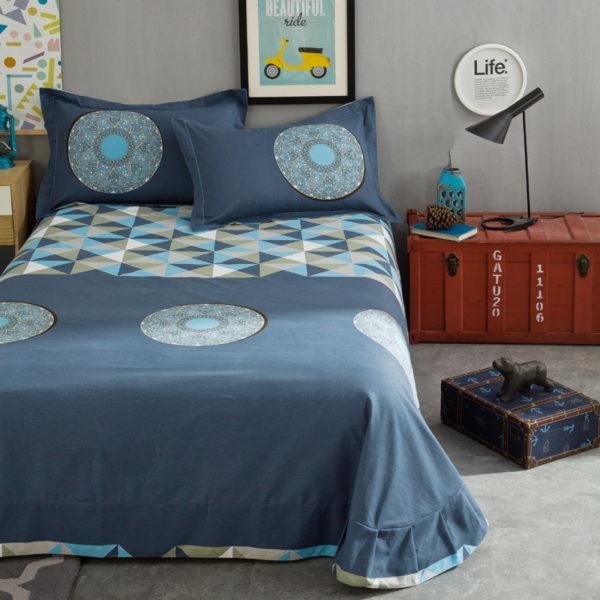 BYF OK 100 Cotton Sanding Fresh Brief Bedding Set 8 600x600 - BYF-OK 100% Cotton Sanding Fresh Brief Bedding Set