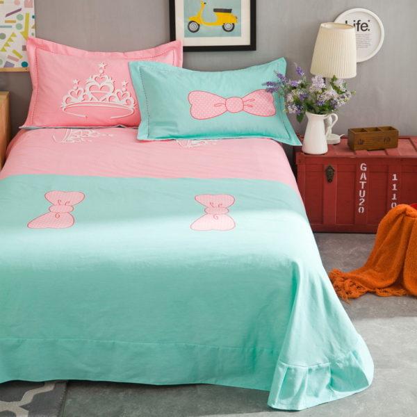 BYF SNQJ 100 Cotton Sanding Fresh Brief Bedding Set 1 600x600 - BYF-SNQJ 100% Cotton Sanding Fresh Brief Bedding Set