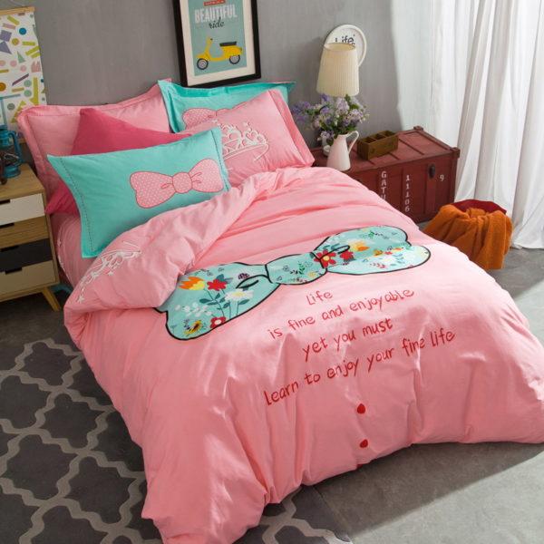 BYF SNQJ 100 Cotton Sanding Fresh Brief Bedding Set 5 600x600 - BYF-SNQJ 100% Cotton Sanding Fresh Brief Bedding Set