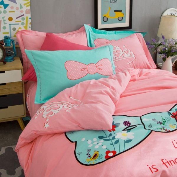BYF SNQJ 100 Cotton Sanding Fresh Brief Bedding Set 7 600x600 - BYF-SNQJ 100% Cotton Sanding Fresh Brief Bedding Set