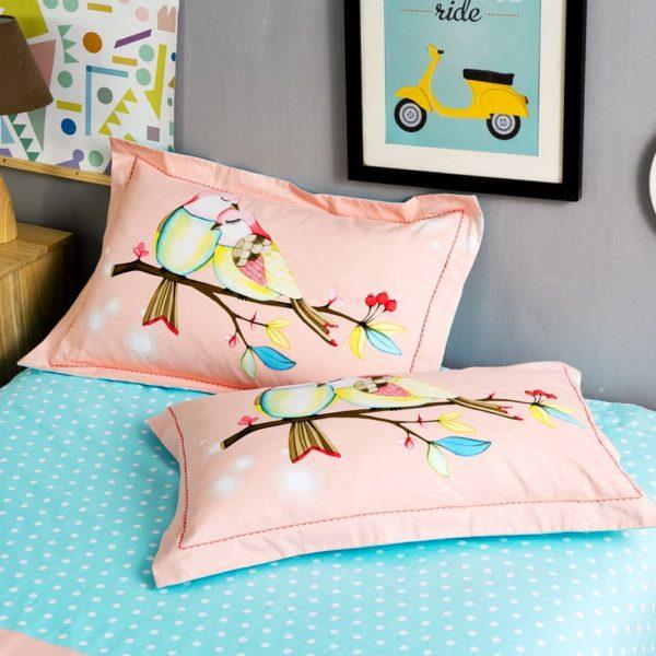 BYF TMM 100 Cotton Sanding Fresh Brief Bedding Set 2 600x600 - BYF-TMM 100% Cotton Sanding Fresh Brief Bedding Set