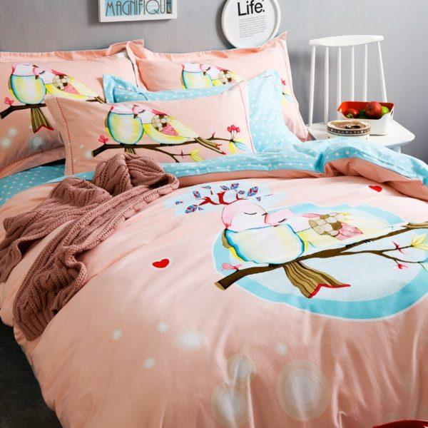 BYF TMM 100 Cotton Sanding Fresh Brief Bedding Set 8 600x600 - BYF-TMM 100% Cotton Sanding Fresh Brief Bedding Set