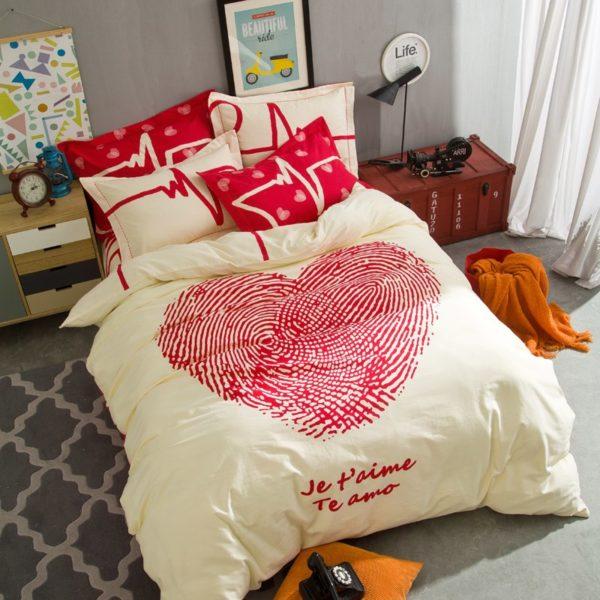 BYF XDGY 100 Cotton Sanding Fresh Brief Bedding Set 5 600x600 - BYF-XDGY 100% Cotton Sanding Fresh Brief Bedding Set