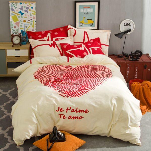 BYF XDGY 100 Cotton Sanding Fresh Brief Bedding Set 6 600x600 - BYF-XDGY 100% Cotton Sanding Fresh Brief Bedding Set