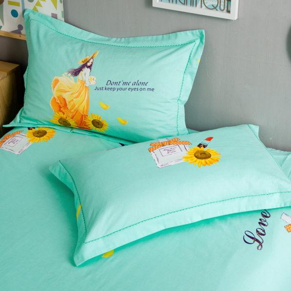 BYF YGNH 100 Cotton Sanding Fresh Brief Bedding Set 2 600x600 - BYF-YGNH 100% Cotton Sanding Fresh Brief Bedding Set
