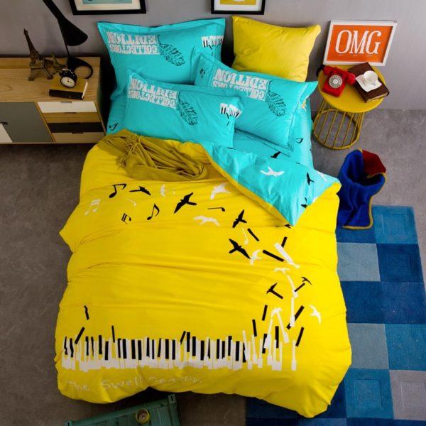 BYF ZJXL 100 Cotton Sanding Fresh Brief Bedding Set 6 600x600 - BYF-ZJXL 100% Cotton Sanding Fresh Brief Bedding Set