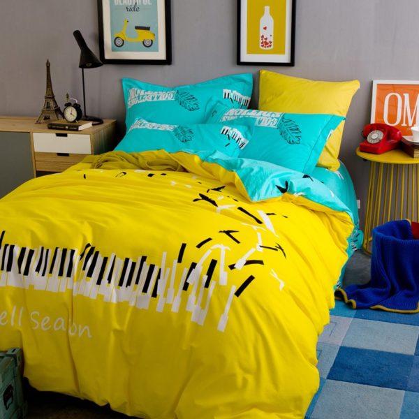 BYF ZJXL 100 Cotton Sanding Fresh Brief Bedding Set 7 600x600 - BYF-ZJXL 100% Cotton Sanding Fresh Brief Bedding Set