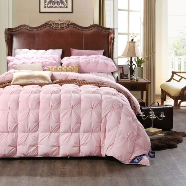 High Quality Polyester White Duck Down Comforter Model 2 1 600x600 - High Quality Polyester White Duck Down Comforter - Model 2
