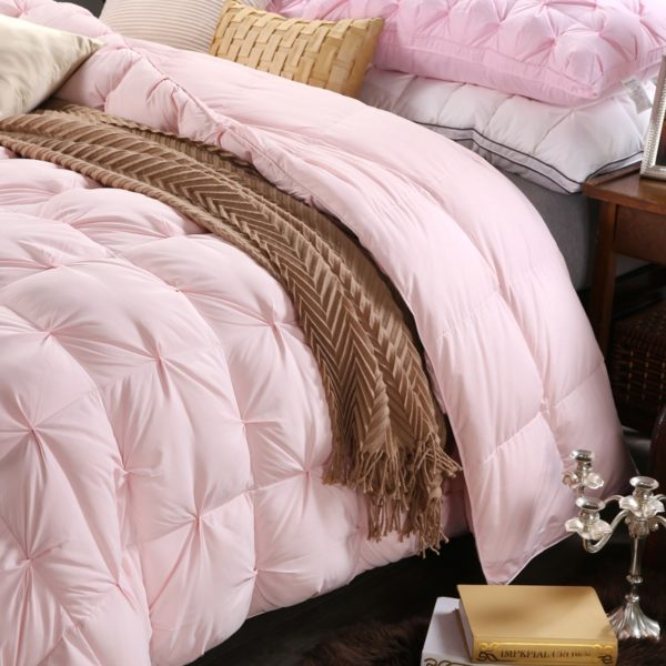 High Quality Polyester White Duck Down Comforter Model 2 2 600x600 - High Quality Polyester White Duck Down Comforter - Model 2