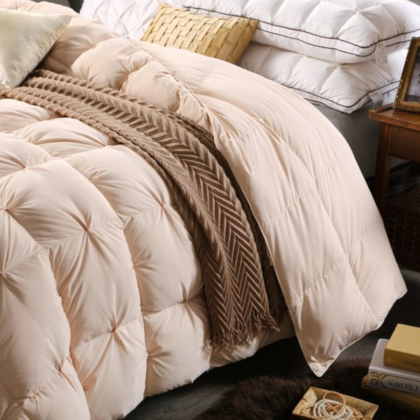 High Quality Polyester White Duck Down Comforter Model 3 10 600x600 - High Quality Polyester White Duck Down Comforter - Model 3