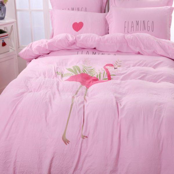 Washed fabric soft polyester Bedding Set Model CD YNTH FLMG 5 600x600 - Washed fabric soft polyester Bedding Set - Model C&D-YNTH-FLMG