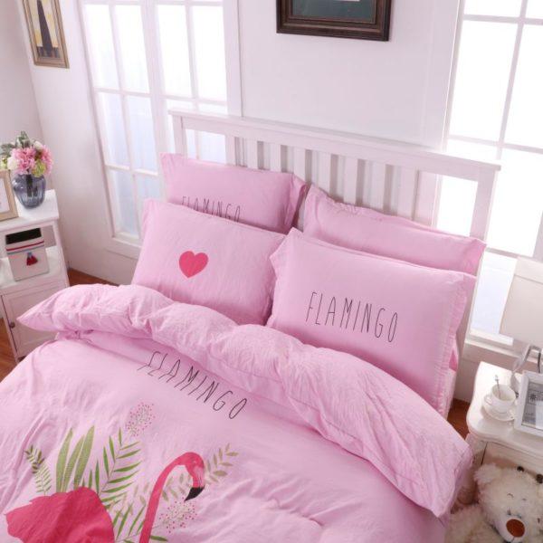 Washed fabric soft polyester Bedding Set Model CD YNTH FLMG 6 600x600 - Washed fabric soft polyester Bedding Set - Model C&D-YNTH-FLMG