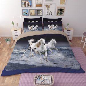 3 Majestic Horses Running Printed Bedding Set 2 300x300 - 3 Majestic Horses Running Printed Bedding Set