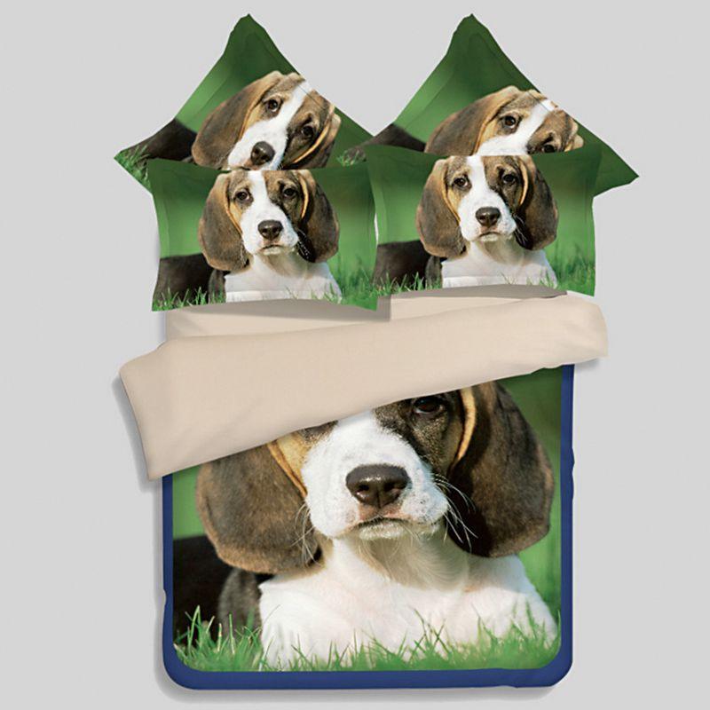 3d Dog Printed Bedding Sets Ebeddingsets
