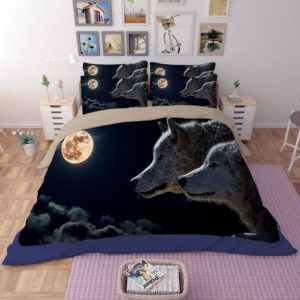 3D New Moon Wolves Printed Bedding Set 1 300x300 - 3D New Moon & Wolves Printed Bedding Set