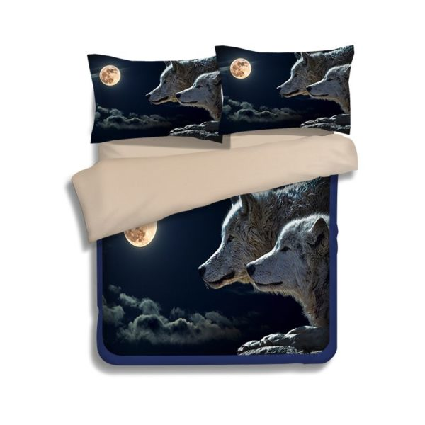 3D New Moon Wolves Printed Bedding Set 4 600x600 - 3D New Moon & Wolves Printed Bedding Set