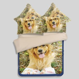 3D puppy bedding set 300x300 - 3D puppy bedding set