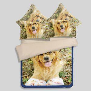 3D puppy bedding set