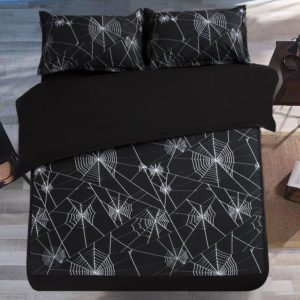 Amazing Spider Web Printed Black Bedding Set 1 300x300 - Amazing Spider Web Printed Black Bedding Set