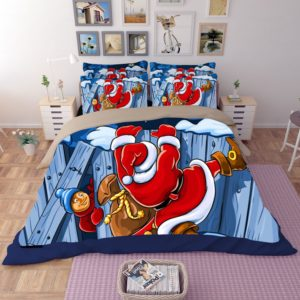 Animated Santa Claus Printed Bedding Set 1 300x300 - Animated Santa Claus Printed Bedding Set