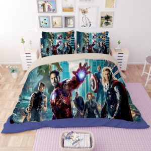 Avengers Assemble Print Bedding Set 4 300x300 - Avengers Assemble Print Bedding Set