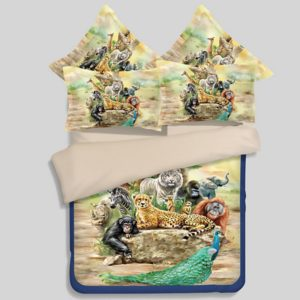 Beautiful Animals Printed Bedding Set 300x300 - Beautiful Animals Printed Bedding Set