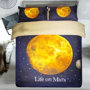 Beautiful Planet Mars Printed Blue Theamed Bedding set 2 300x300 - Beautiful Planet Mars Printed Blue Theamed Bedding set