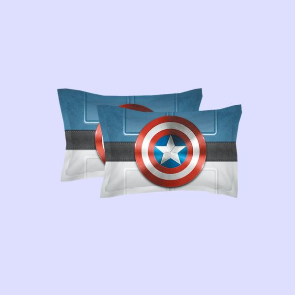 Captain America Shield Bedding Set 2 600x600 - Captain America Shield Bedding Set