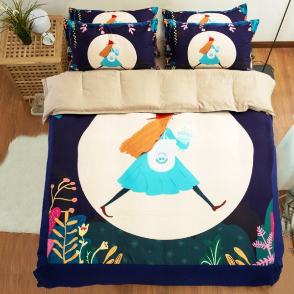Cute Bedding set for Baby Girl 2 600x600 - Cute Bedding set for Baby Girl