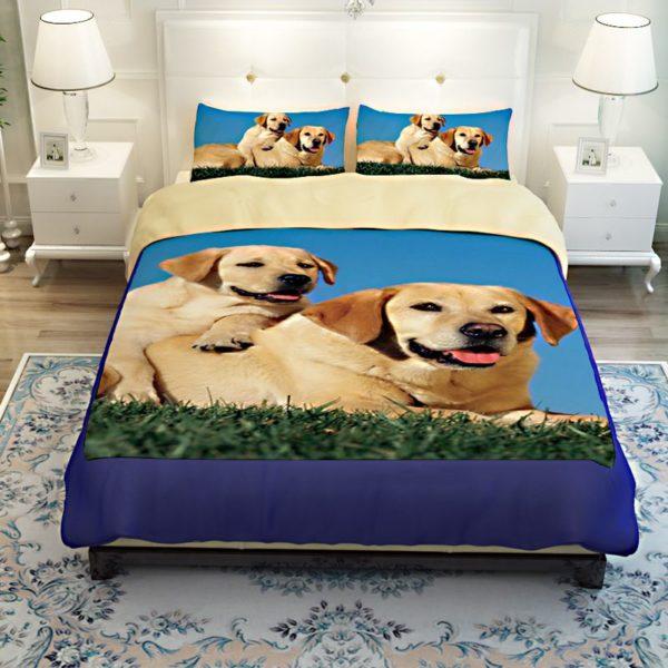 Cute Puppy Bedding set 3 600x600 - Cute Puppy Bedding set