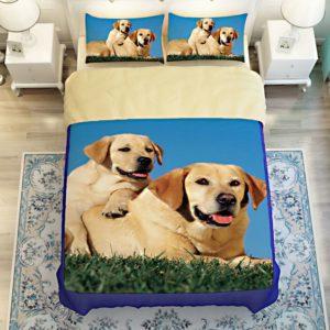 Cute Puppy Bedding set