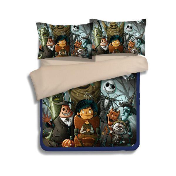 Dark Holloween Nightmare Bedding set 1 600x600 - Dark Holloween Nightmare Bedding set