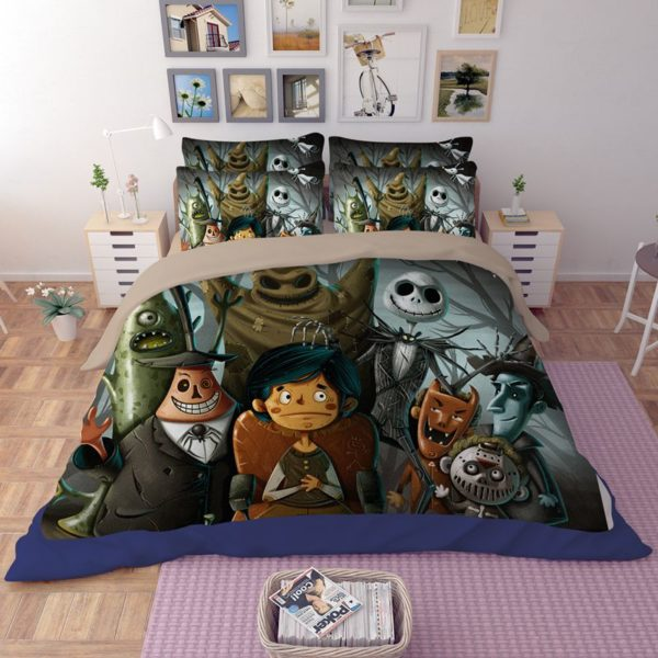Dark Holloween Nightmare Bedding set 2 600x600 - Dark Holloween Nightmare Bedding set