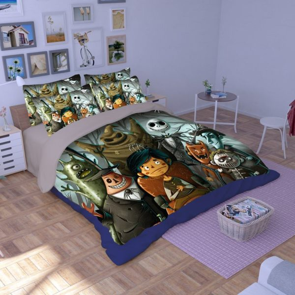 Dark Holloween Nightmare Bedding set 3 600x600 - Dark Holloween Nightmare Bedding set