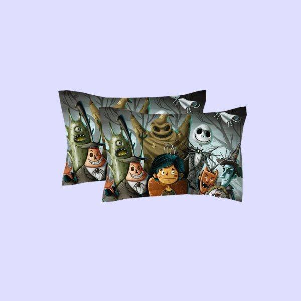 Dark Holloween Nightmare Bedding set 4 600x600 - Dark Holloween Nightmare Bedding set