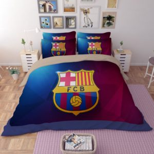 FC Barcelona 3D Logo Printed Bedding set 4 300x300 - FC Barcelona 3D Logo Printed Bedding set