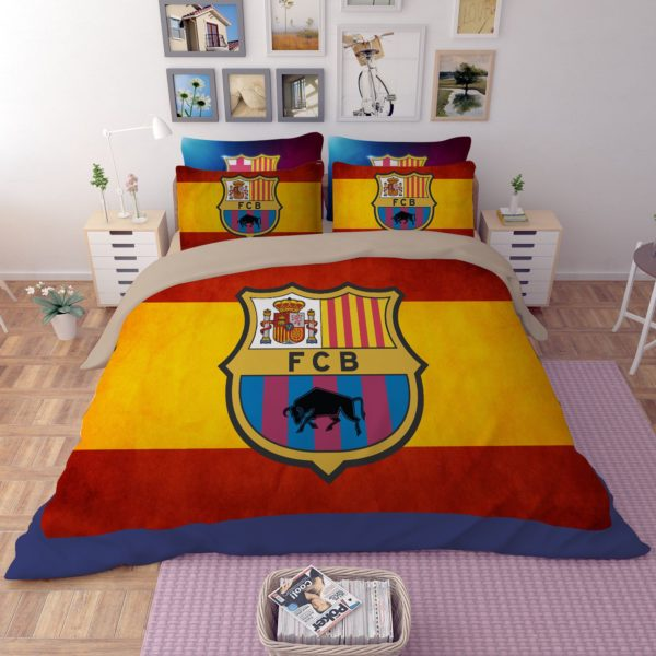 FCB Barcelona Flag Printed bedding set 1 600x600 - FCB Barcelona Flag Printed bedding set