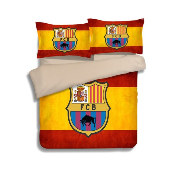 FCB Barcelona Flag Printed bedding set 2 600x600 - FCB Barcelona Flag Printed bedding set