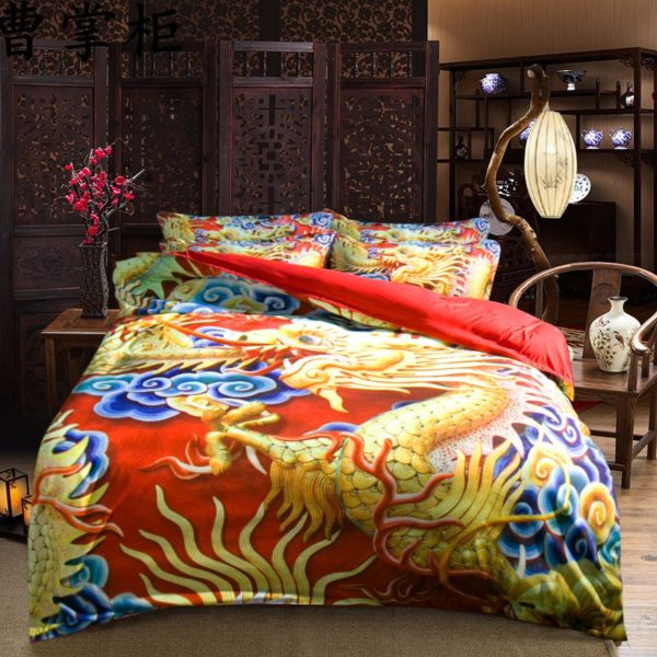 Fabulous Dragon Themed Bedding Set 3 600x600 - Fabulous Dragon Themed Bedding Set