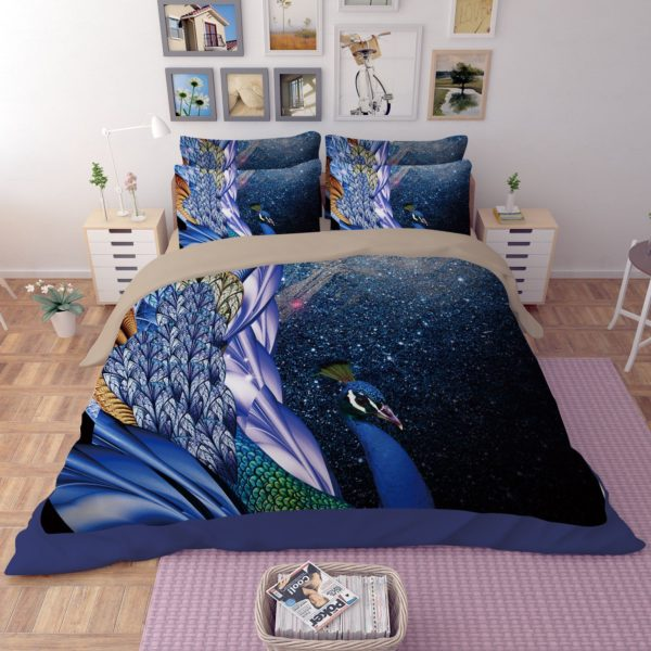 Fantastic Peacock Theamed Bedding Set 1 600x600 - Fantastic Peacock Theamed Bedding Set