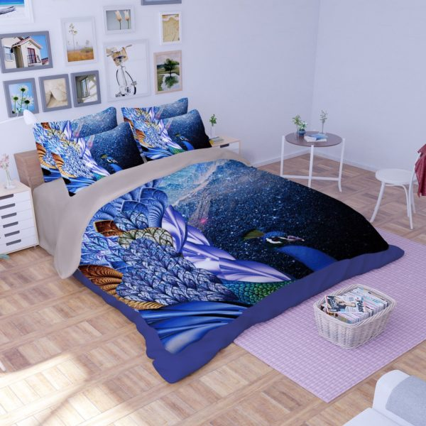 Fantastic Peacock Theamed Bedding Set 2 600x600 - Fantastic Peacock Theamed Bedding Set