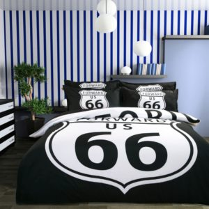 Forward US 66 Black White Bedding Set 2 300x300 - Forward US 66 Black & White Bedding Set