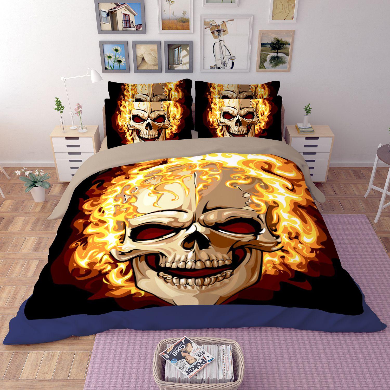 Skull Twin Xl Bedding