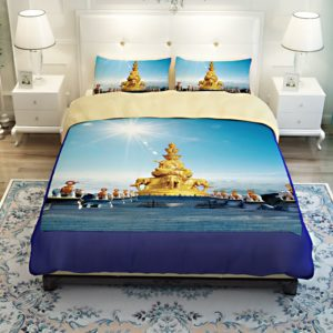 Golden Statue of Puxian Bedding Set 4 300x300 - Golden Statue of Puxian Bedding Set