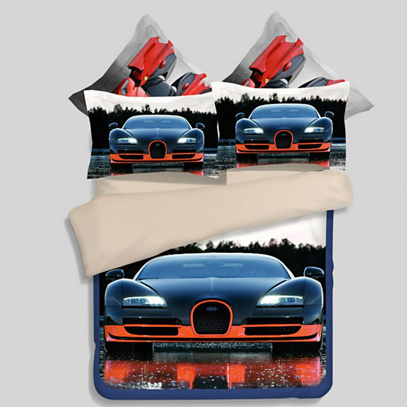 Hd Bugatti Veyron Car Printed Bedding Set Ebeddingsets