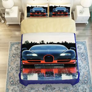HD Bugatti Veyron Car Printed Bedding Set 4 300x300 - HD Bugatti Veyron Car Printed Bedding Set